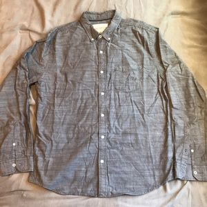 Long sleeve button up. Large
